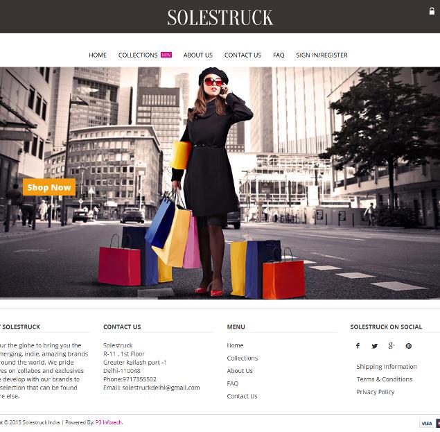 Solestruck India
